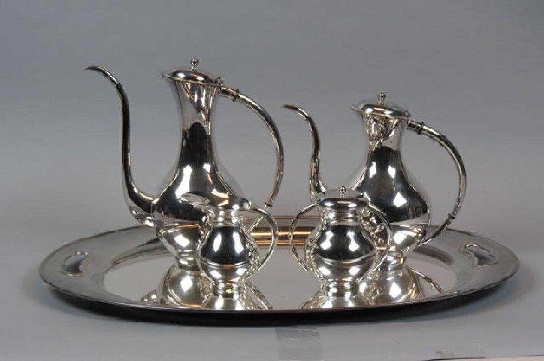 5 pc. Sterling Tea & Coffee Service with Tray,
