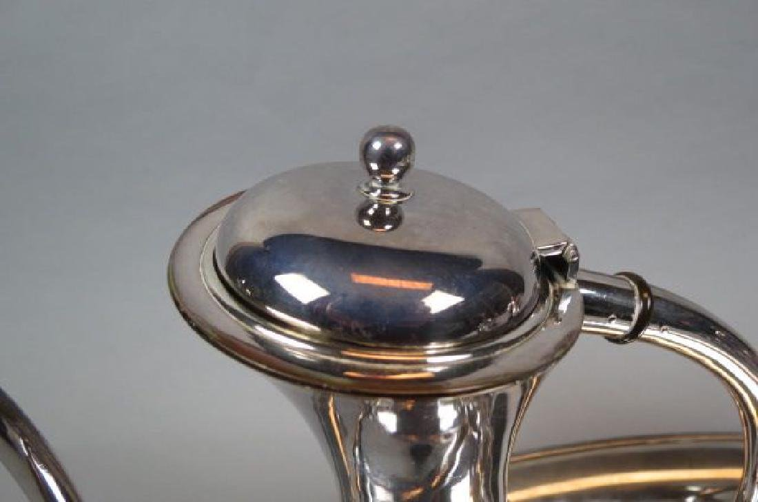 5 pc. Sterling Tea & Coffee Service with Tray, - 5