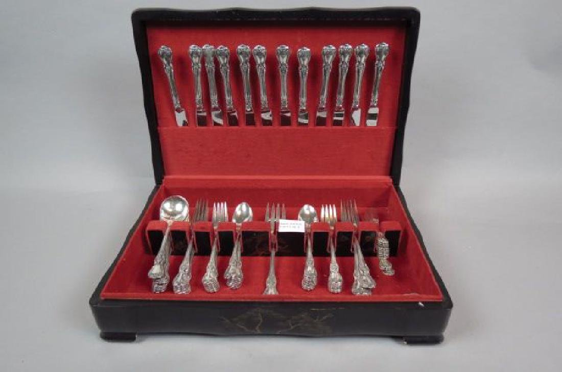 "83 pc. Towle ""Old Master"" Sterling Flatware Set,"