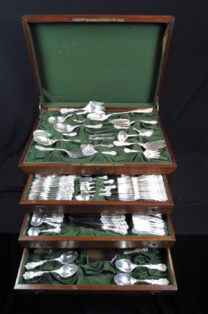 "194 pc. R & B ""Francis I"" Sterling Flatware Set,"