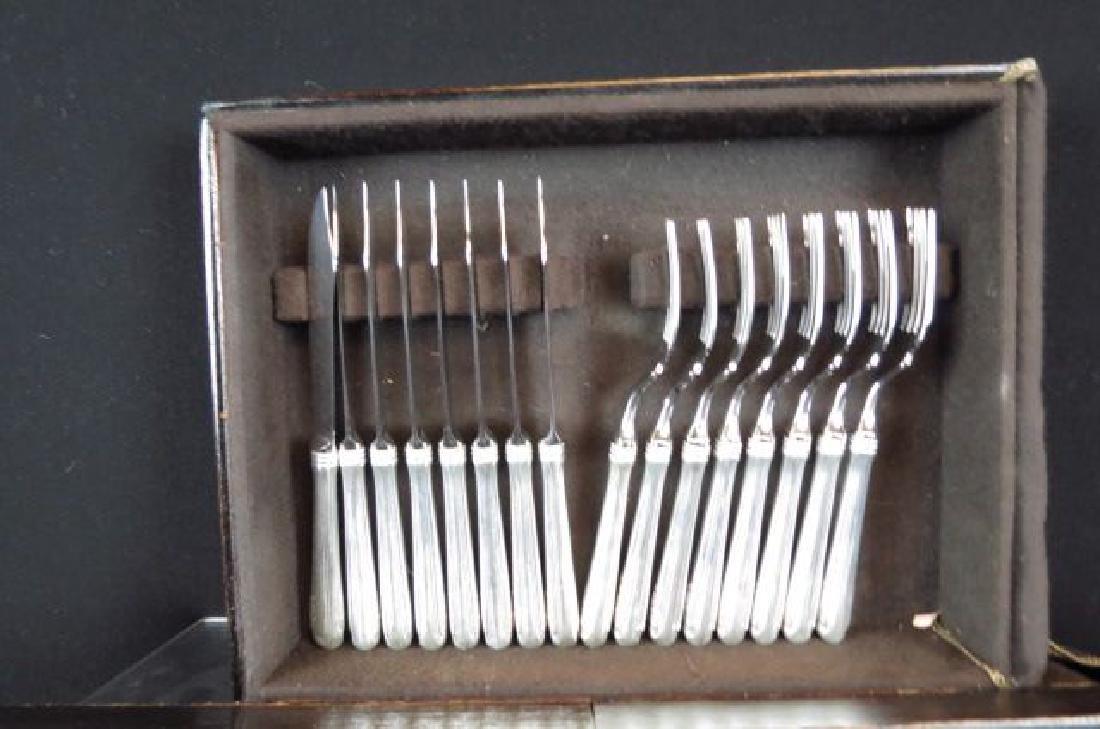 "325 pc. Gorham ""Old French"" Sterling Flatware Set, - 9"