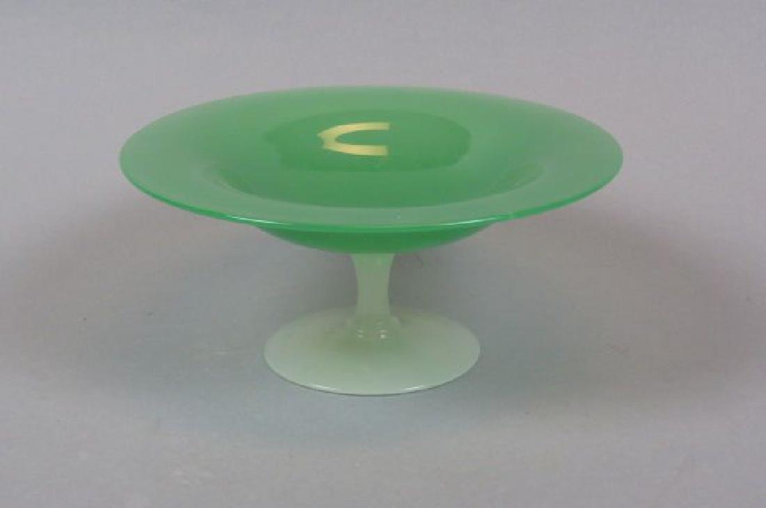 Steuben Art Glass Compote,