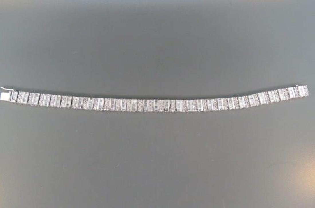 Diamond Bracelet, 280 diamonds,