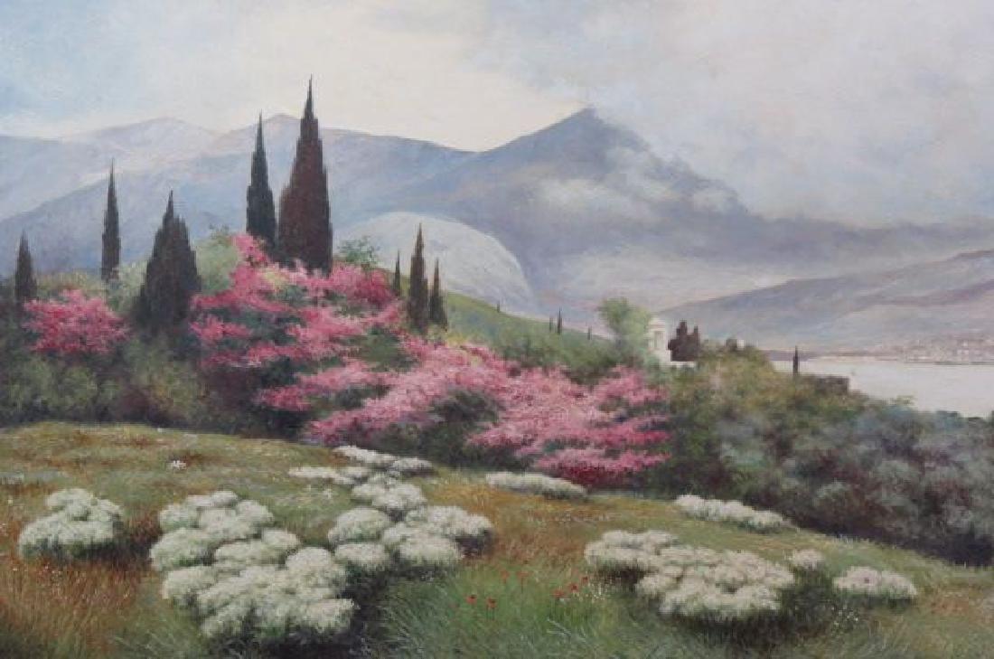 Nicholas Ivanov, oil, Spring Landscape,