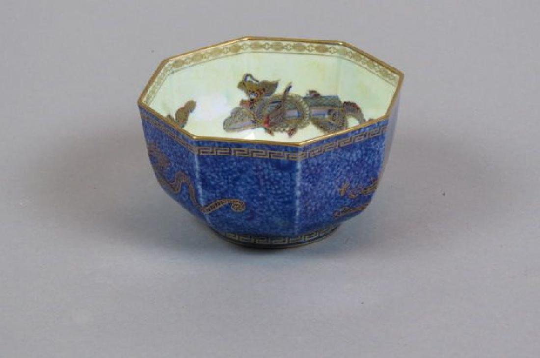"Wedgwood Fairyland Lustre Porcelain ""Dragon"" Bowl,"