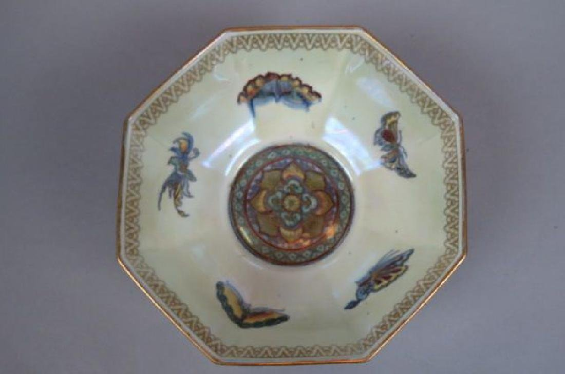 "Wedgwood Fairyland Lustre ""Butterfly"" Bowl,"