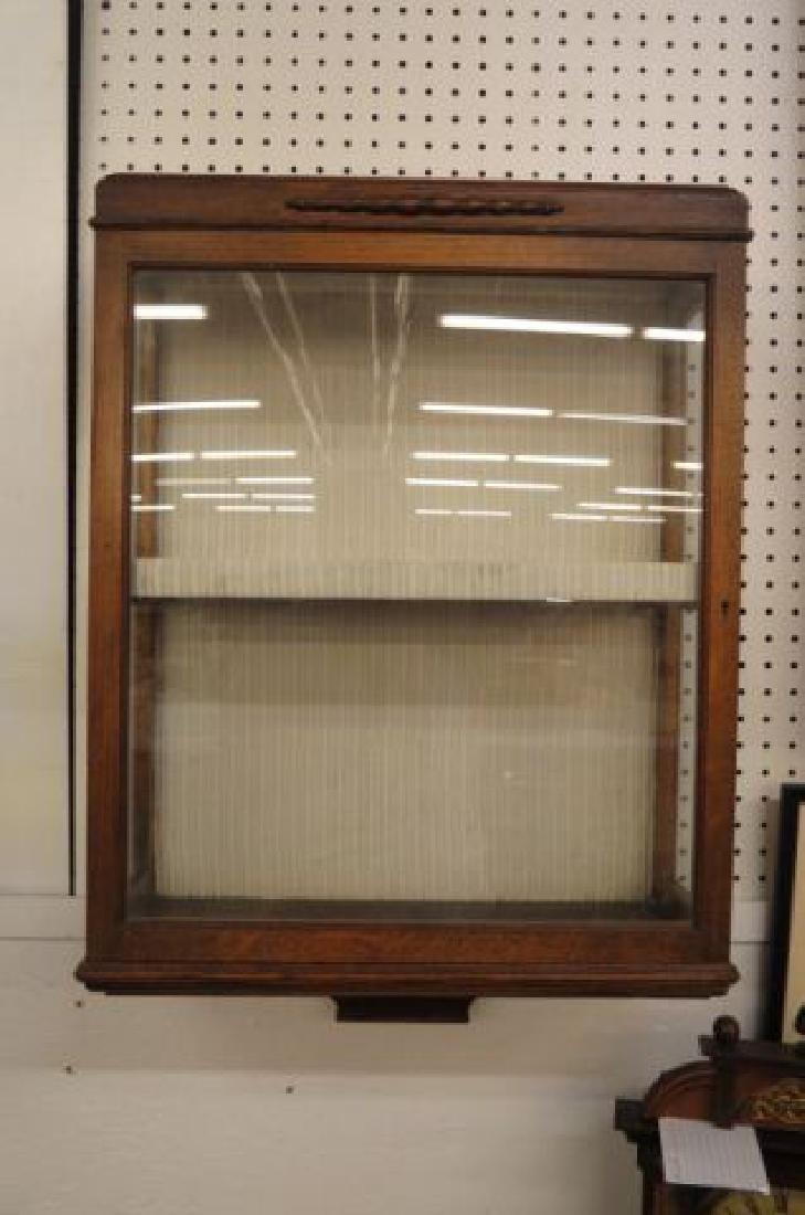 Oak Wall Cabinet,