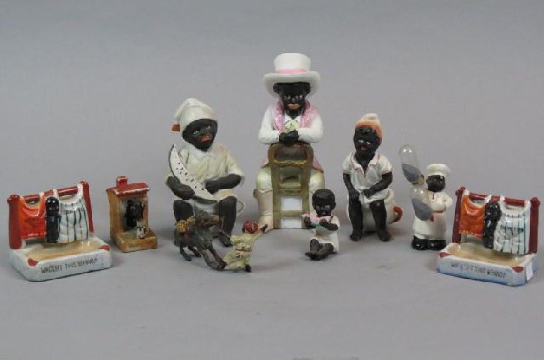 9 pc. Black Americana Figurine Collection,
