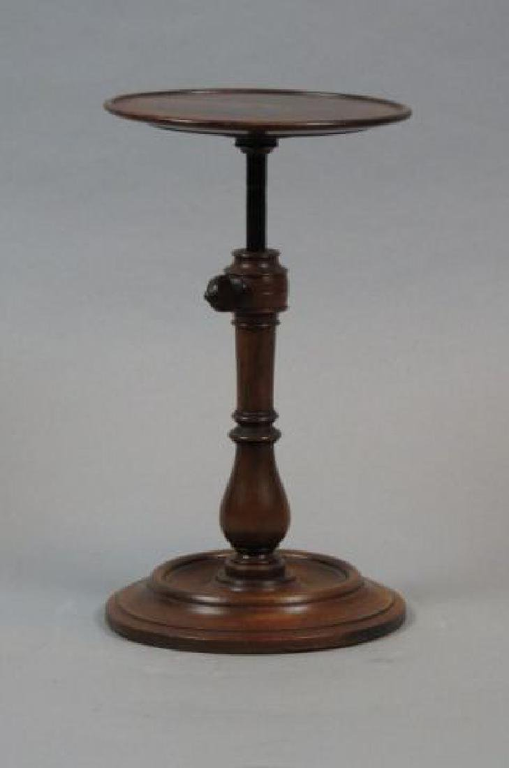 Early Rosewood Tea Stand with Cup & Saucer,