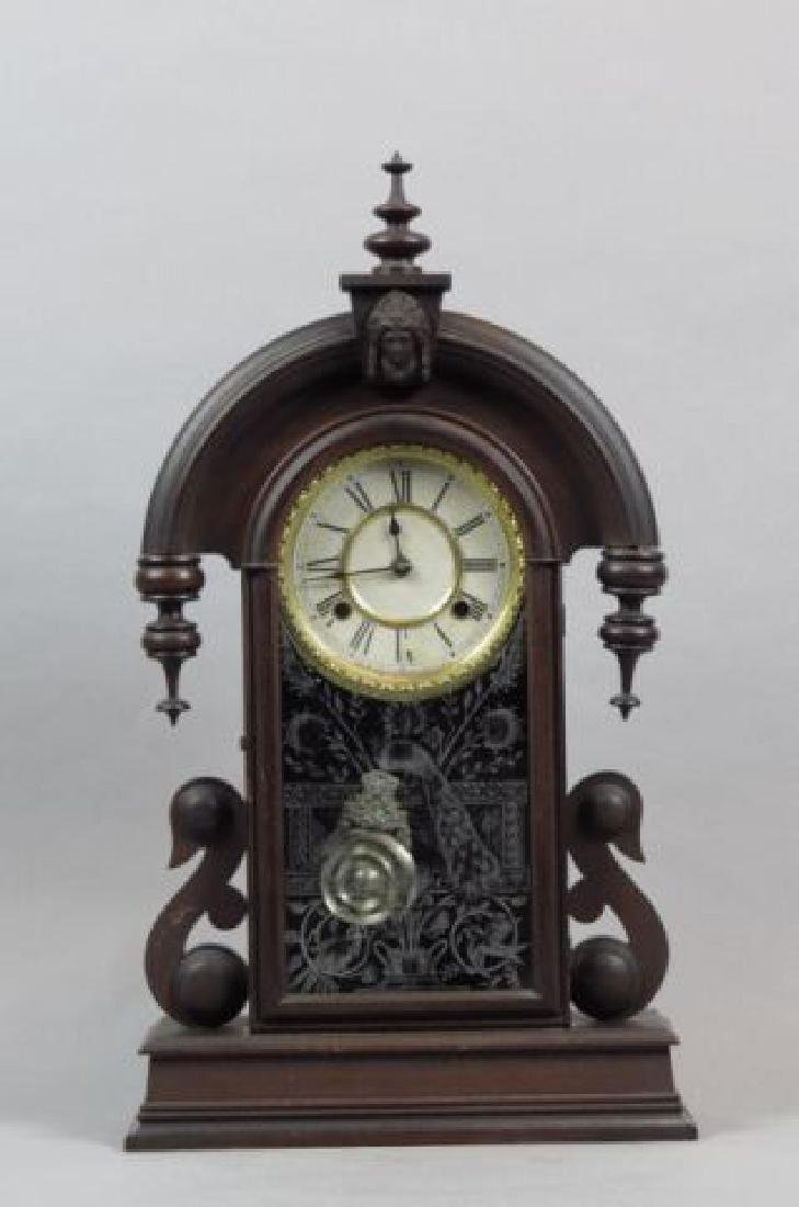"""Waterbury """"Jenny Lind"""" Mantle Clock,"""