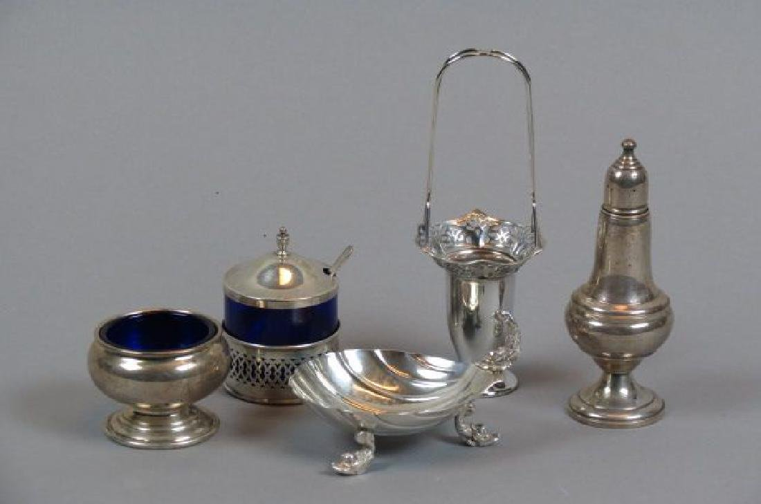 4 Sterling Silver Items;