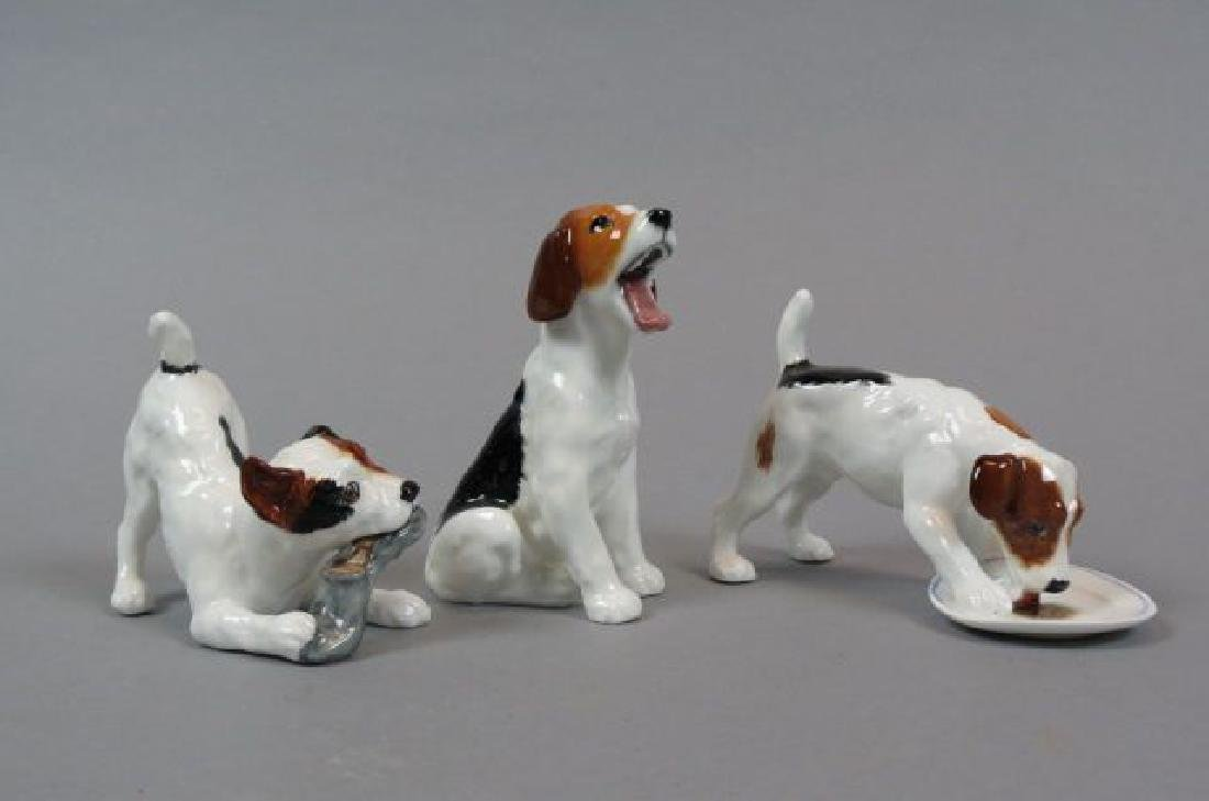 3 Royal Doulton Character Dog Figurines,