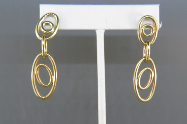 14k Gold Earrings,