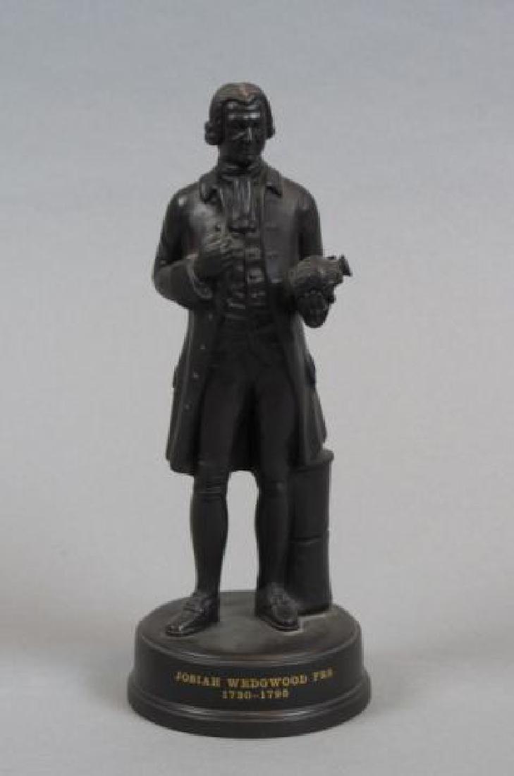 Wedgwood Black Basalt Figurine of Josiah Wedgwood,