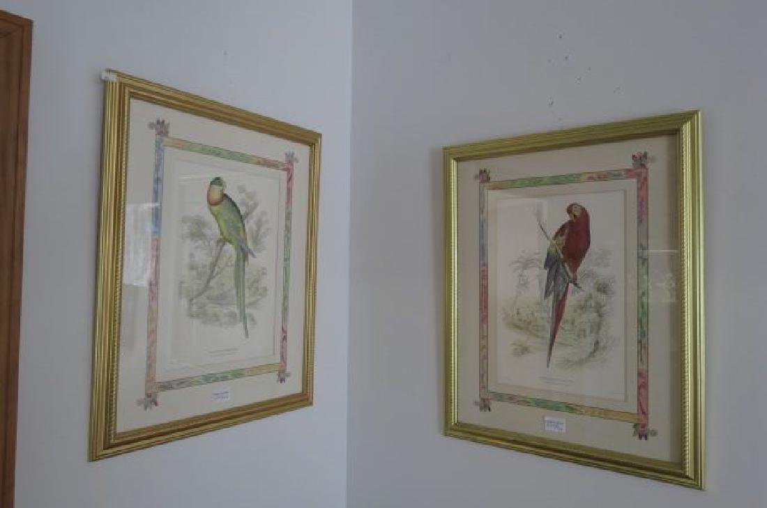 Pair of Decorative Bird Prints,