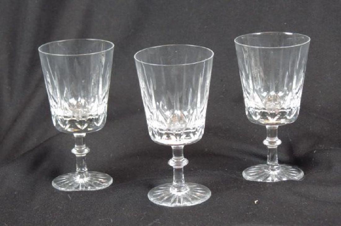 10 Royal Brierley Cut Crystal Goblets,