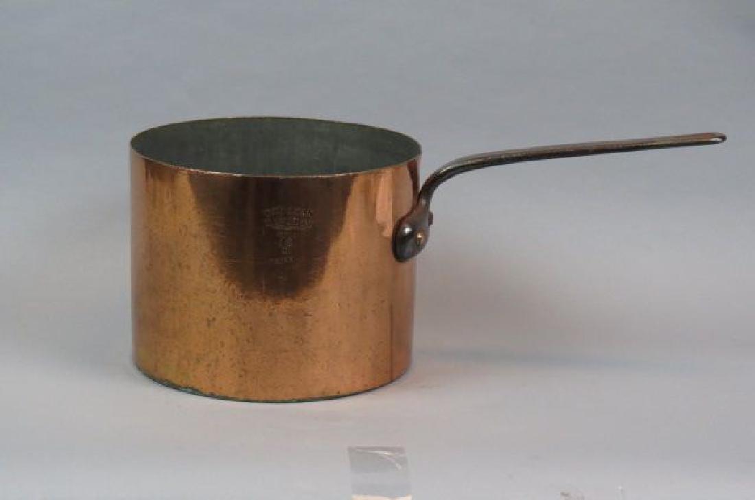 19th Century Copper 12 Quart Pan by J. Van Range