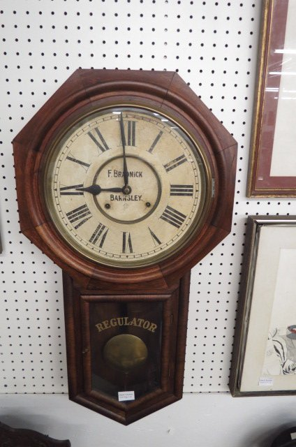 Ansonia Regulator Wall Clock