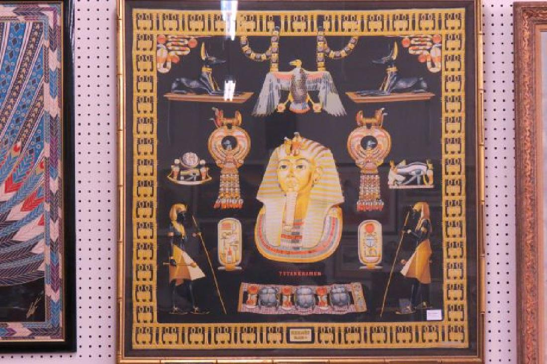 Hermes Scarf of Tutankhamun Egyptain Decor,