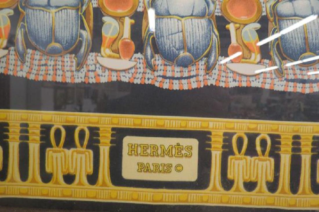 Hermes Scarf of Tutankhamun Egyptain Decor, - 4