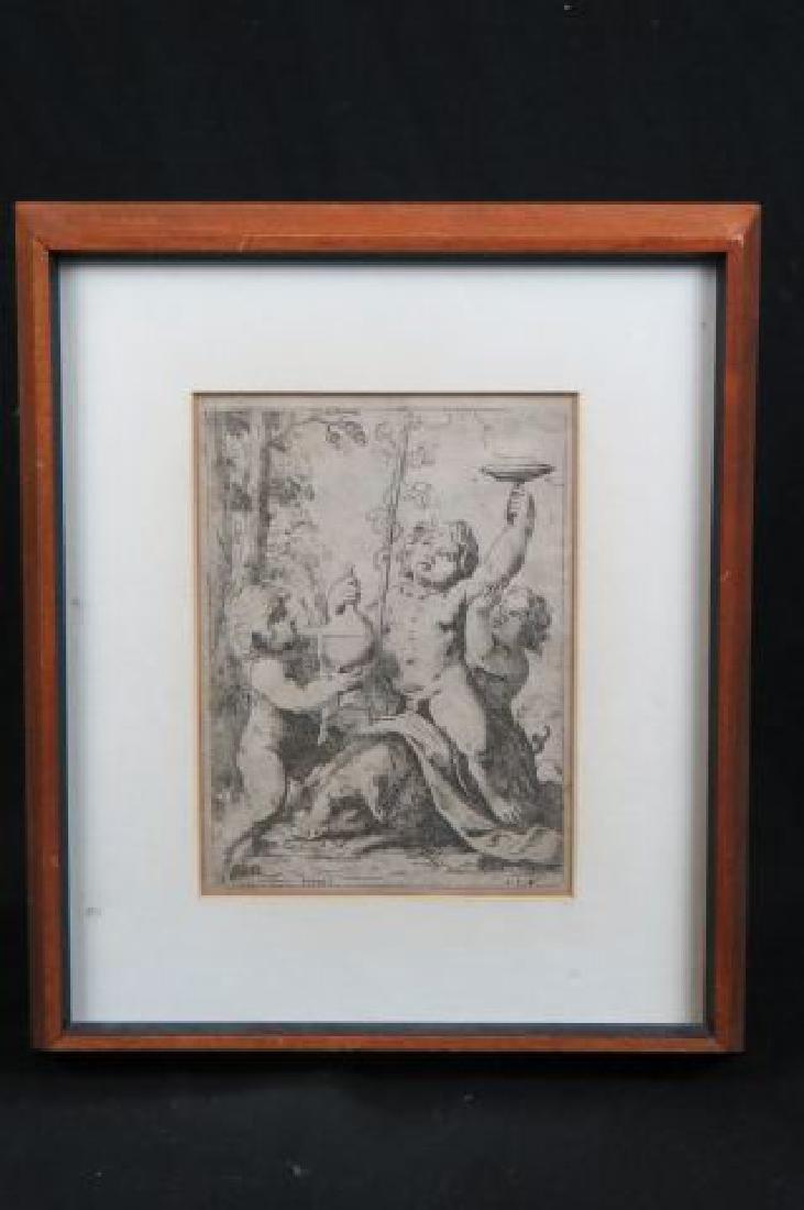 Girolamo Scarselli 17th Century Etching,