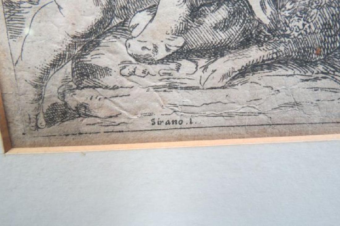 Girolamo Scarselli 17th Century Etching, - 4