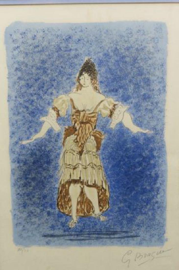Georges Braque Lithograph of Lady, - 2