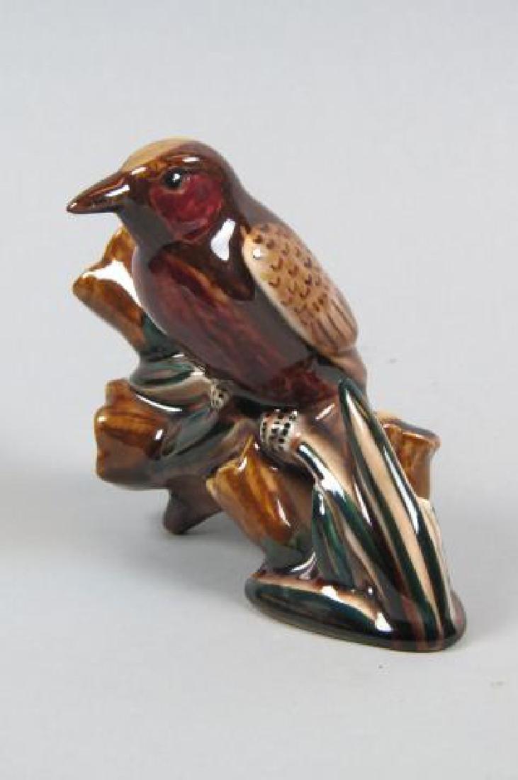 Rookwood Art Pottery Figurine of a Woodpecker, - 2