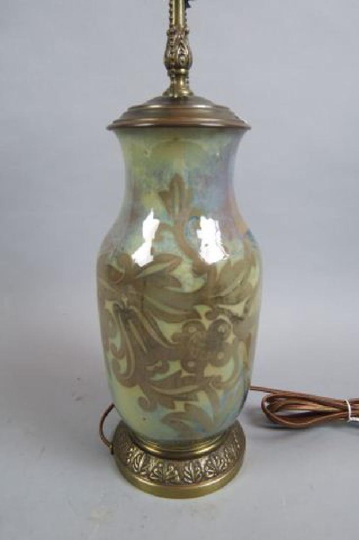 Art Pottery Lamp,