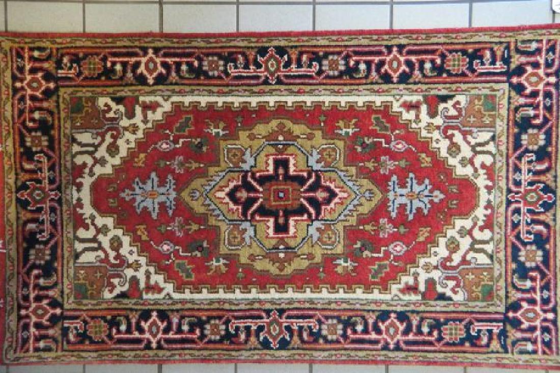 Heriz Persian Handmade Rug, - 2