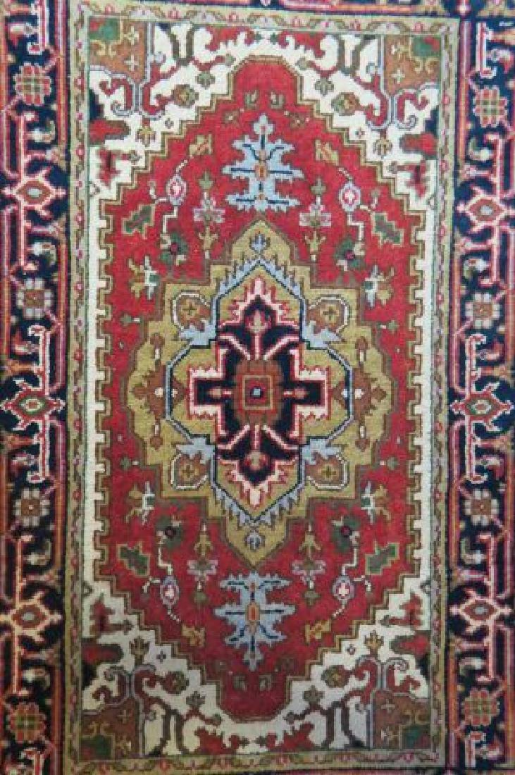 Heriz Persian Handmade Rug, - 3
