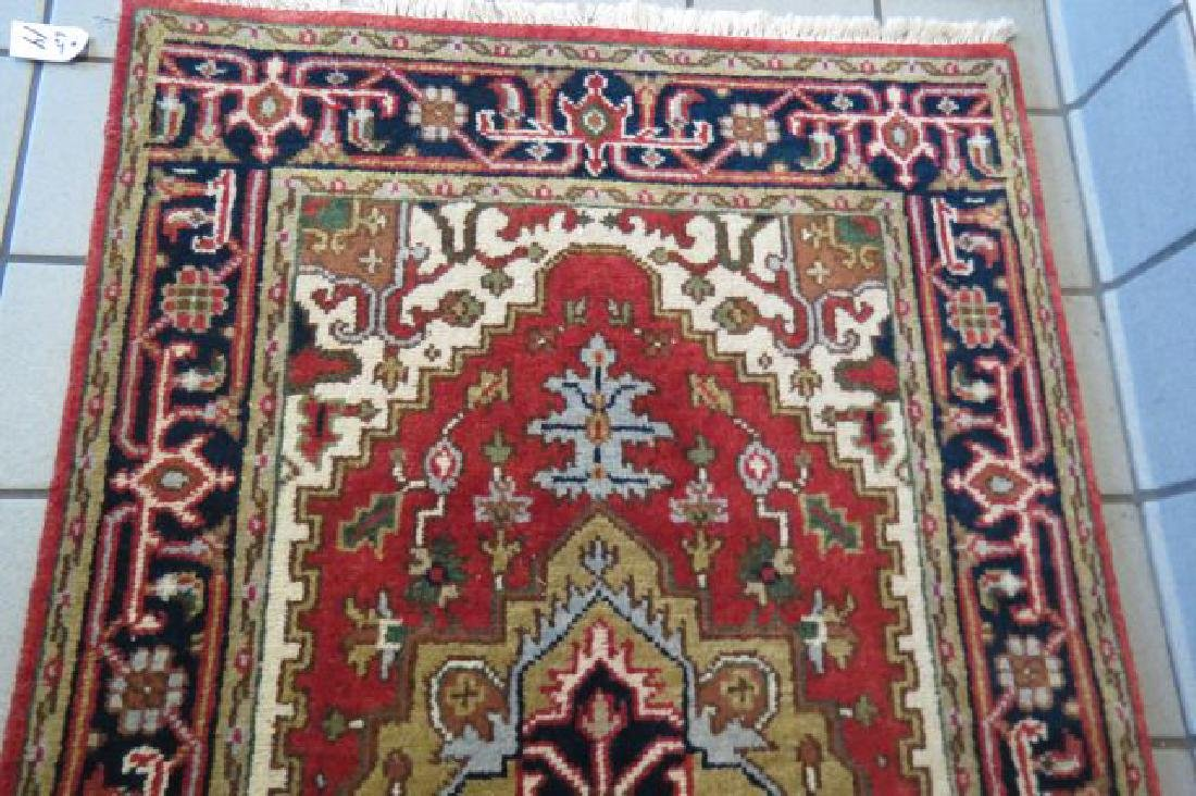 Heriz Persian Handmade Rug, - 4