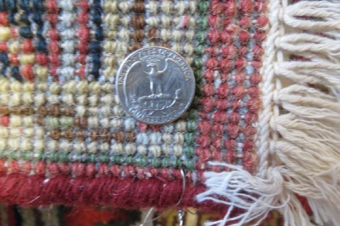 Heriz Persian Handmade Rug, - 5