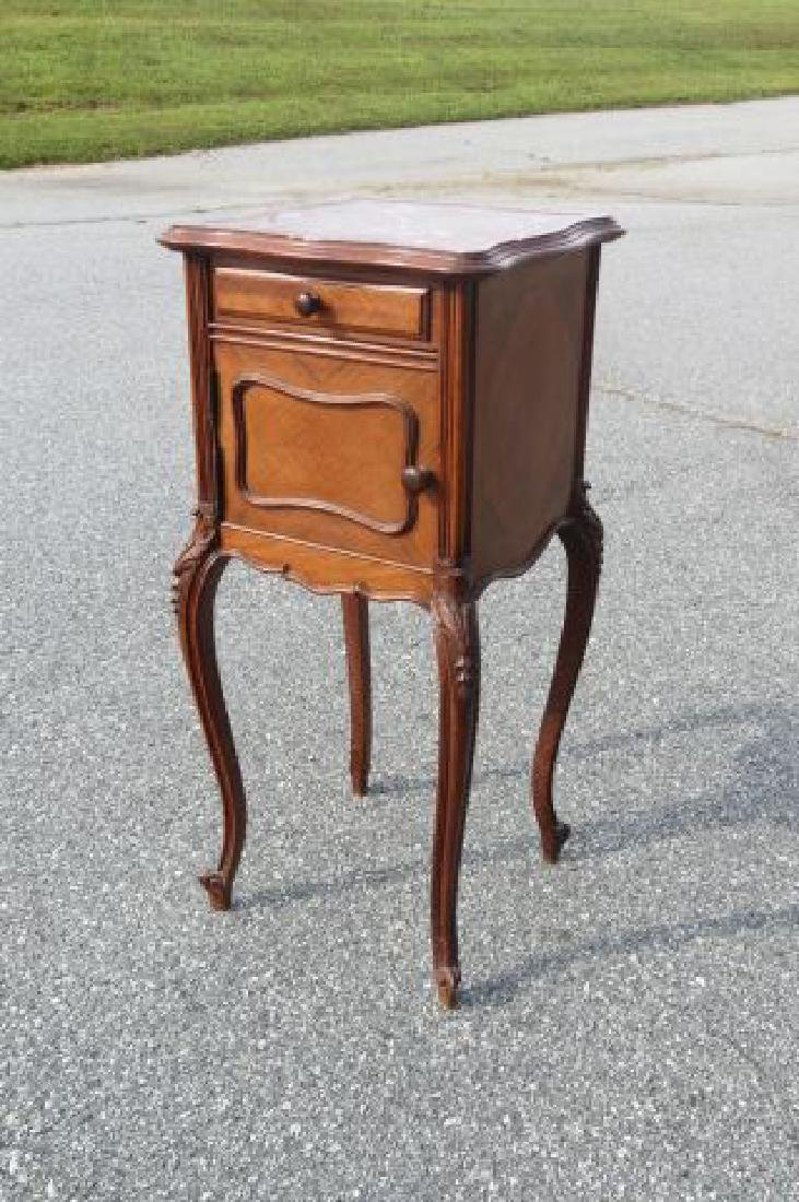 French Marble Top Cabinet,