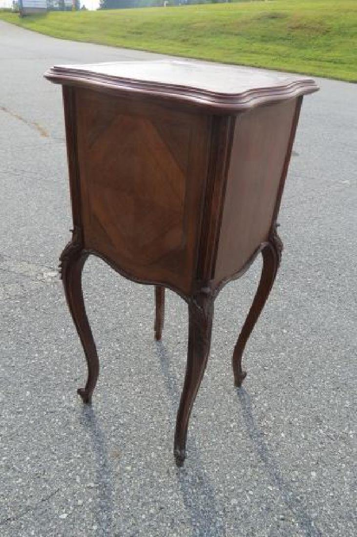 French Marble Top Cabinet, - 3