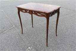 Art Nouveau Marquetry Inlaid Table