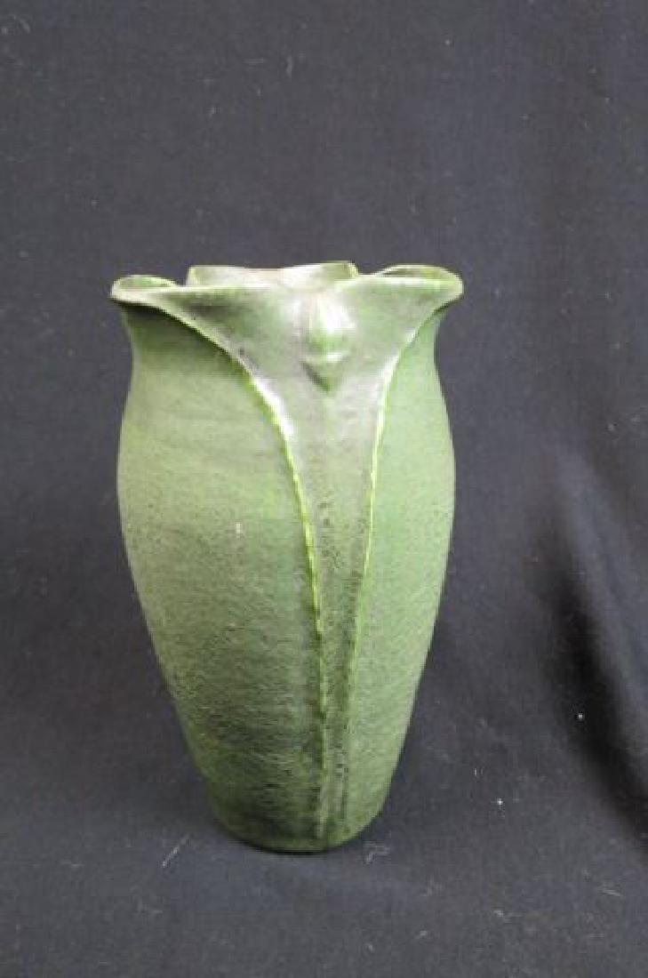 Grueby Art Pottery Vase,