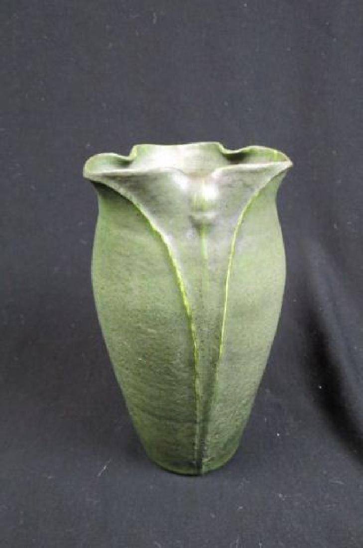 Grueby Art Pottery Vase, - 2