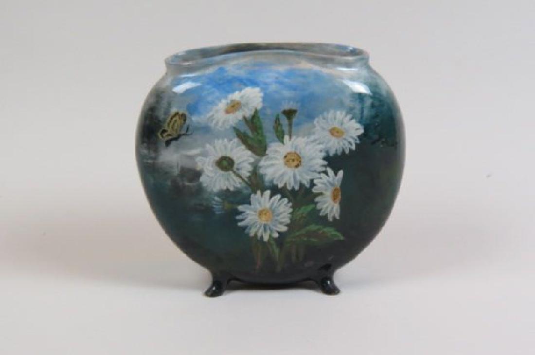 1882 Rookwood Art Pottery Handpainted Vase,