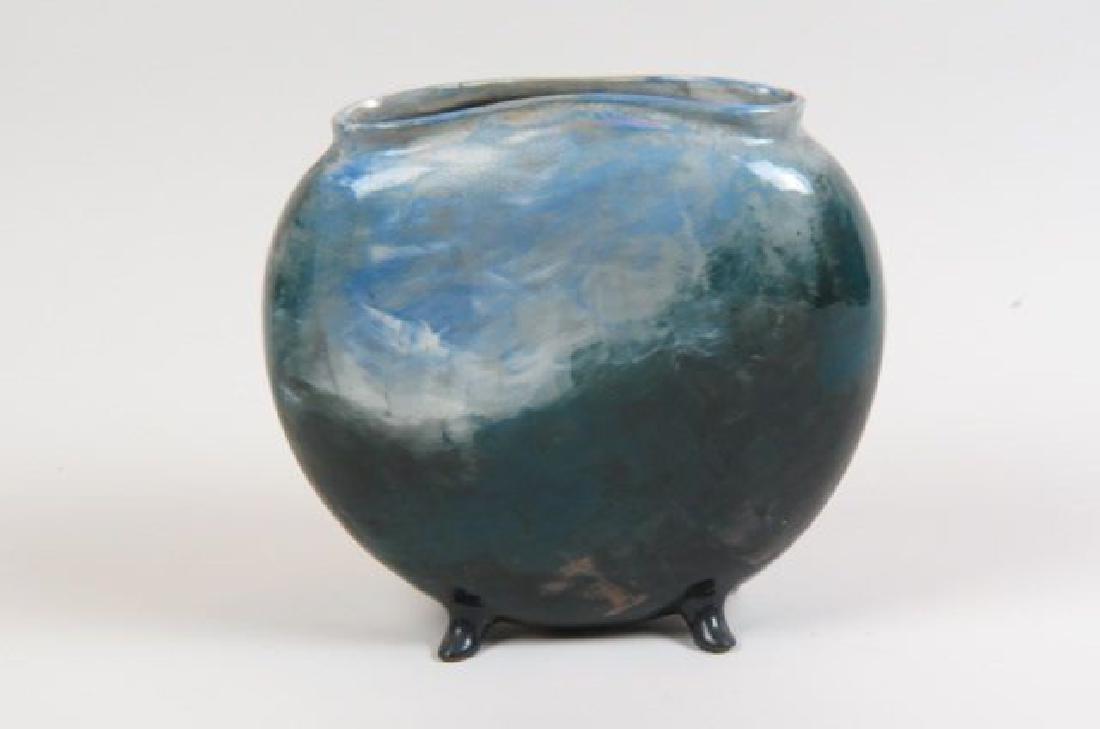 1882 Rookwood Art Pottery Handpainted Vase, - 2