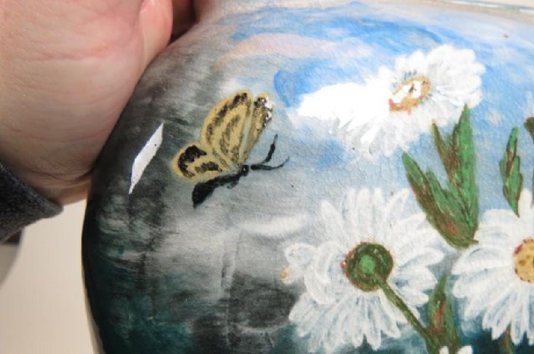 1882 Rookwood Art Pottery Handpainted Vase, - 3