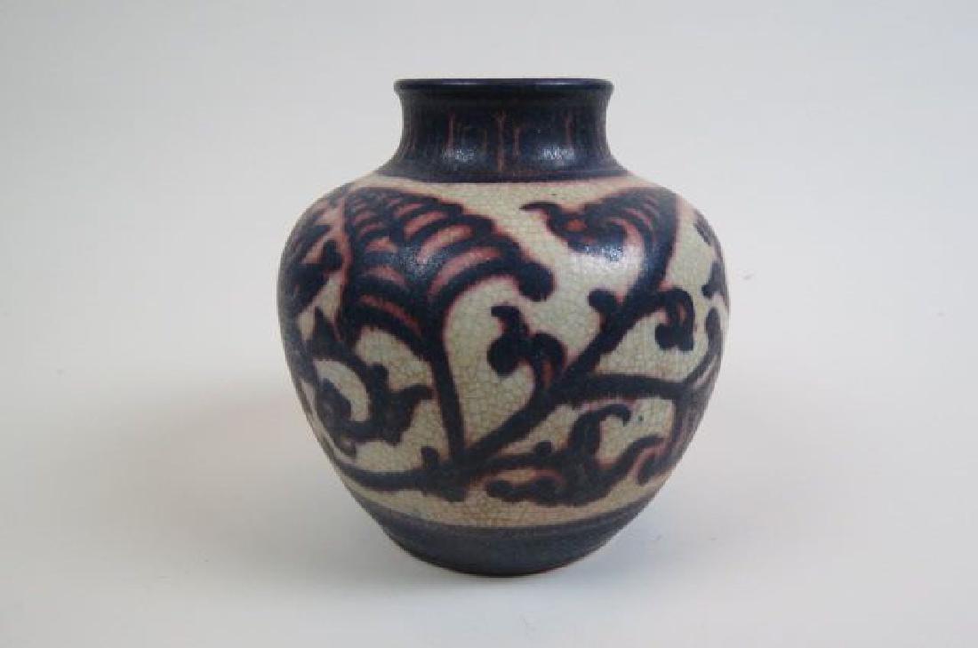 Art Pottery Vase, - 2