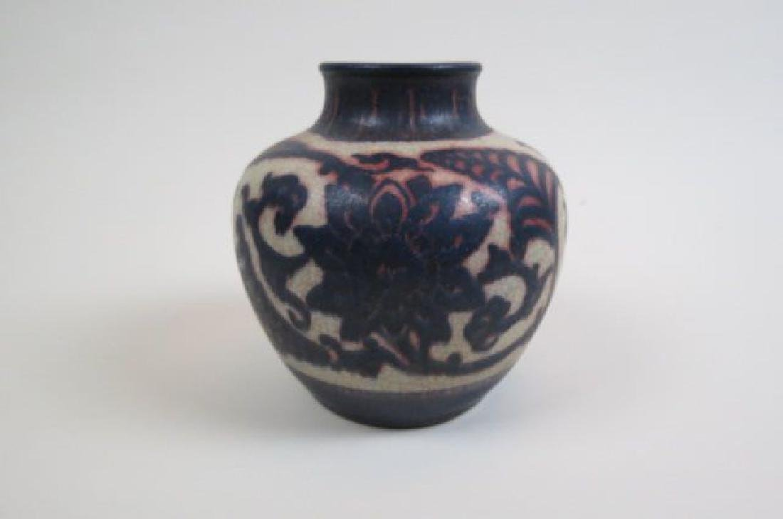 Art Pottery Vase, - 5