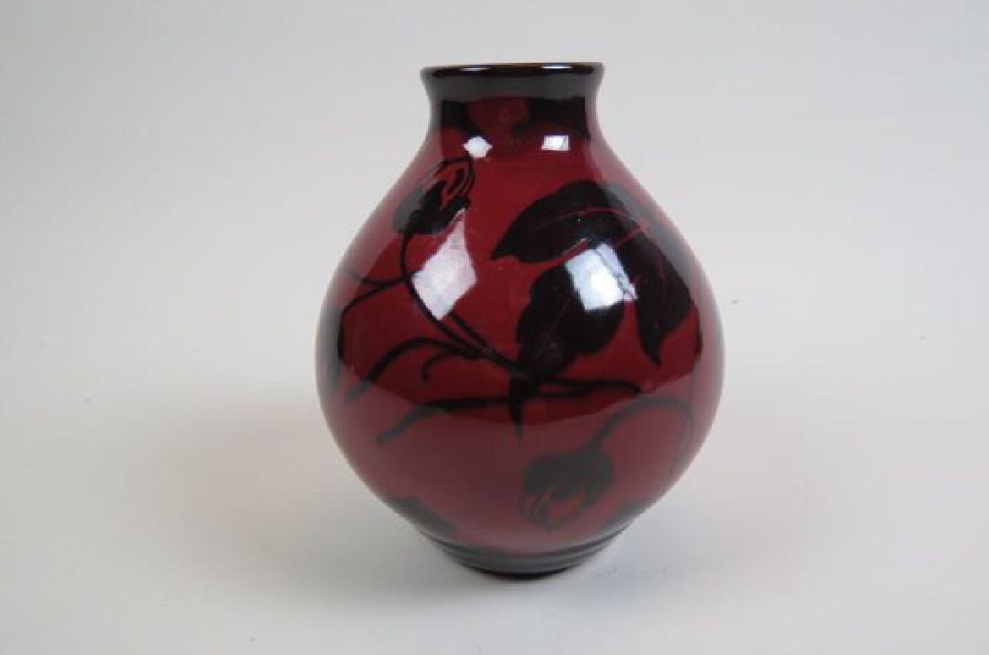 Gouda Art Pottery Vase, - 3