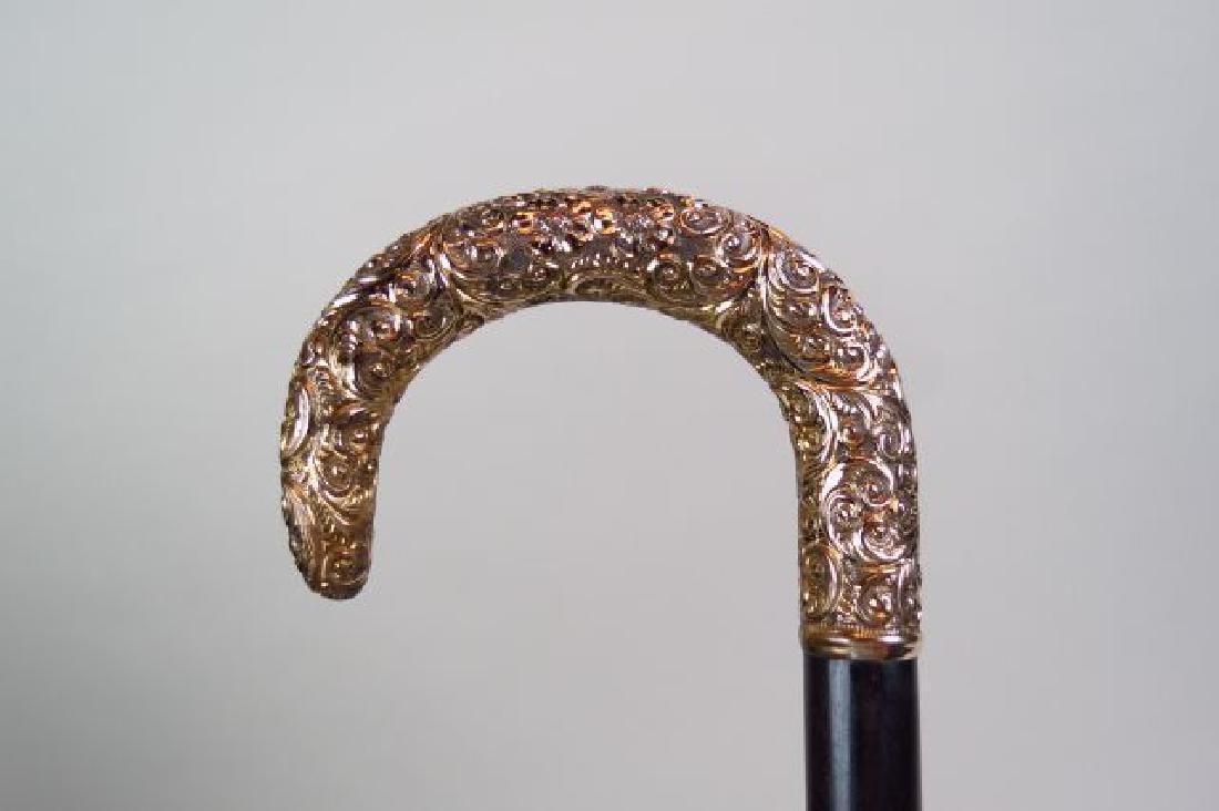Gold Handled Cane,