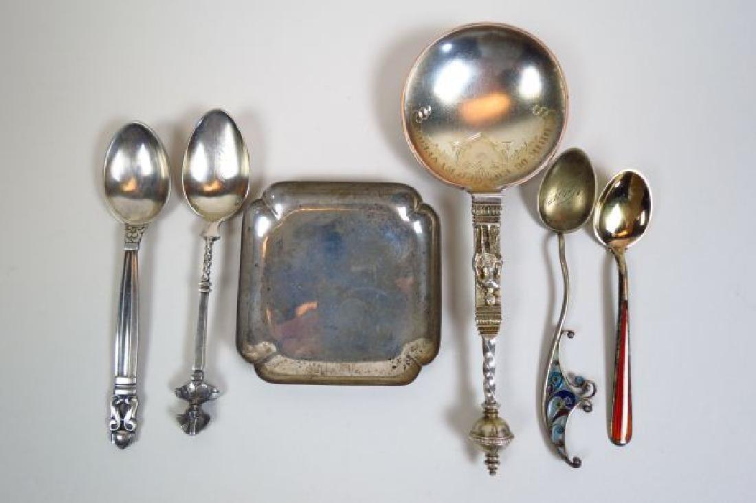 Cartier, Georg Jensen & Others Sterling Silver Lot