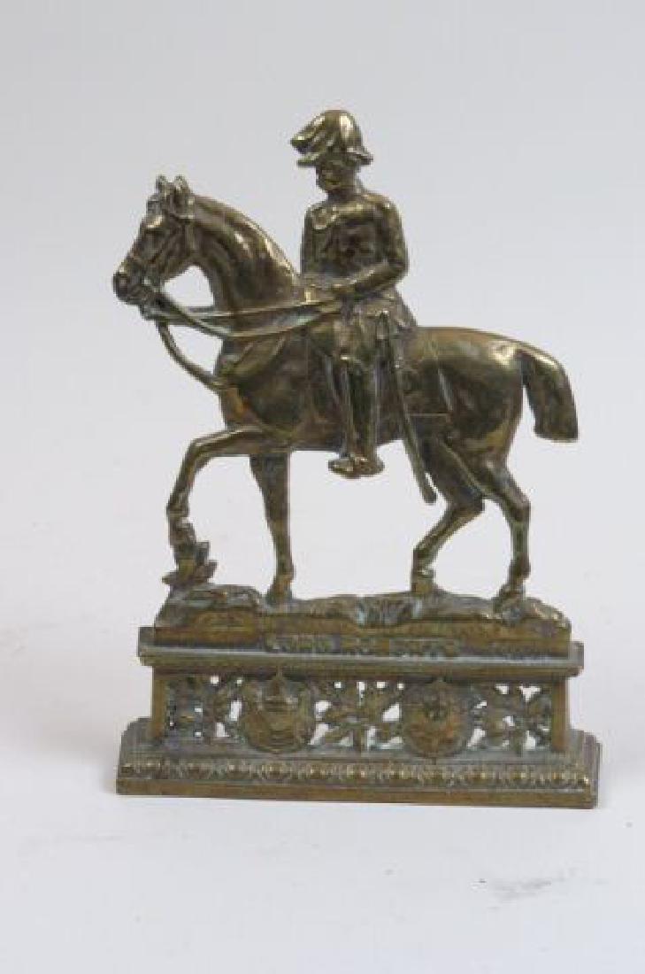 """Brass Figural Doorstop """"Lord Roberts"""","""