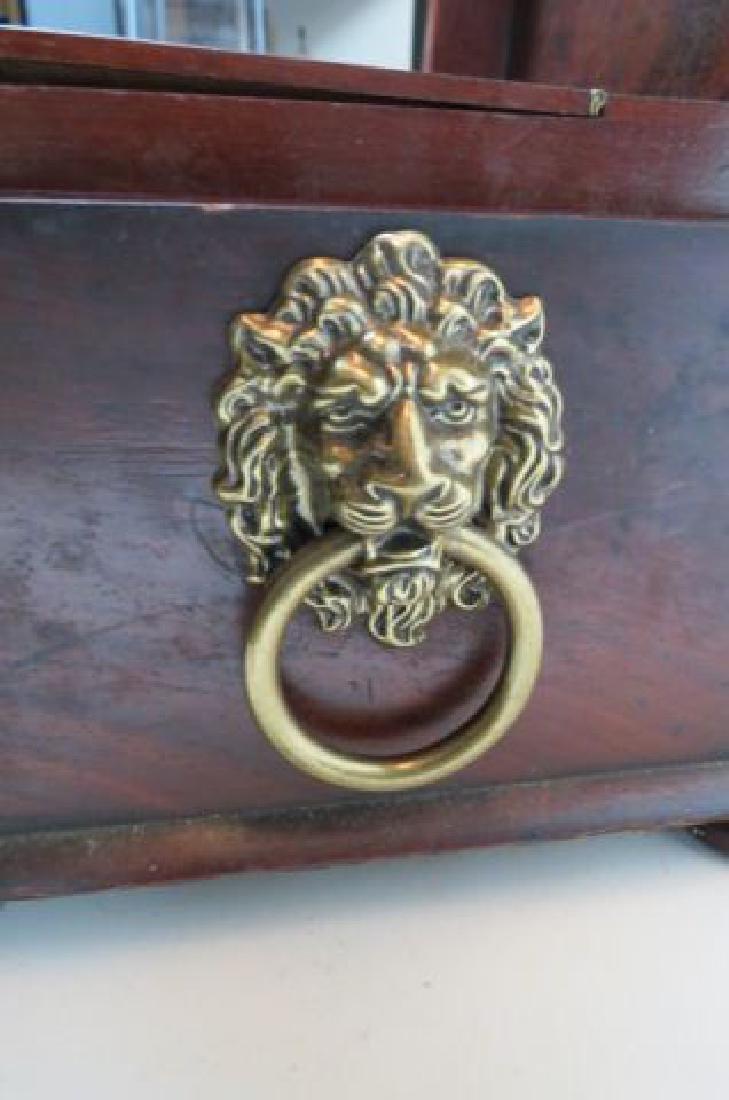 Regency Rosewood Tea Caddy Box, - 3