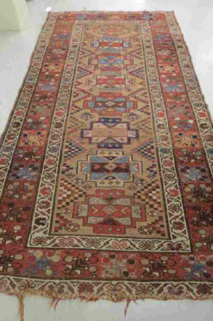 Kurdish Persian Handmade Rug, antique