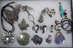 15 pc Sterling Silver Jewelry Lot